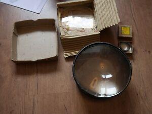 Joblot of condensers 5x4 Condenser Enlarger camera Dallmeyer small medium large