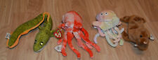 Ty Beanie Babies Retired Lot 1 Sea Creatures