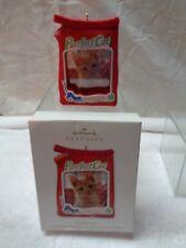 HALLMARK 2012 ORNAMENT--PURRFECT CAT CAT FOOD CHRISTMAS FRAME--HOLDS PHOTO