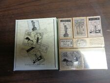 "Collector's Edition ""Tour De Luxe"" Rubber Stamps (96)"