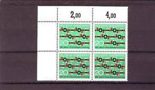 GERMANY/WEST - SG1573 MNH 1971 MOLECULAR CHAIN - BLOCK OF 4