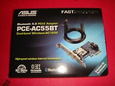Asus (PCE-AC55BT) B1 PCI-E AC1200 Dual-Band Wireless Adapter - NOB h2073