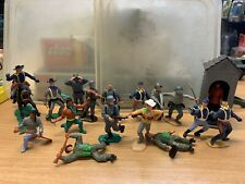 Vintage Job Lot Collection Of Timpo Figures 70's