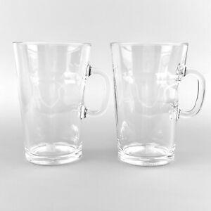 Set of 2 Nespresso VIEW Mugs 270ml Tempered Glass