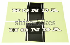 Honda Black Frame Stickers (Pair) suitable for use with Dax ST50 ST70 CT70