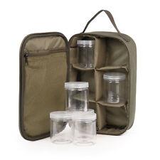 Carponizer Hook Bait inklusive 6 Kunststoffgläser - Ködertasche / Karpfentasche