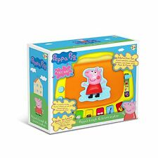 Peppa Pig Toy Laugh & Learn Laptop Childs Electronic Computer Age 2+ NEW Boxed