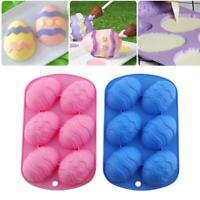 Easter Egg Shape Silicone Moulds Chocolate Mould Cake Baking Ice Cube Tray