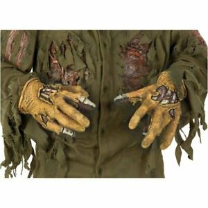 Friday the 13th Movie Jason Voorhees Deluxe Adult Gloves Hands Licensed Costume