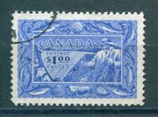 Canada - Sc. #302 - 1951 $1 Fishing Resources - Used