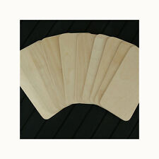 10 BIRCH PLYWOOD NAME PLATES 5 INCHES X 2 INCHES PYROGRAPHY CRAFT BLANKS