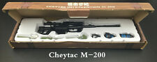 1:6 Scale Battle GUN WWII Weapon Model CheyTac Intervention M-200