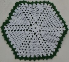 Green And White St. Patrick'S Day Doily