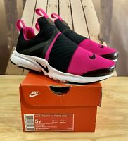 Nike Presto Extreme (GS) Shoes Black/Pink 870022-004 Youth Size 5Y / Women's 6.5