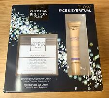 CHRISTIAN BRETON GLOW FACE AND EYE RITUAL COMPLETE KIT. RRP £120 BRAND NEW