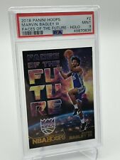 2018-19 NBA Hoops Marvin Bagley III HOLO Rookie Faces of the Future PSA 9 POP 3!