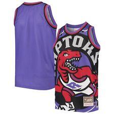 Toronto Raptors NBA Mitchell & Ness Big Face Jersey - Purple