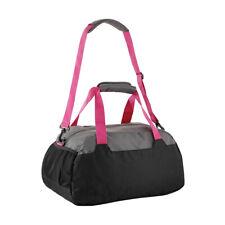 Duffle Gym Bag Black & Pink Shoulder Sports Strap Travel Workout Bags Duffel
