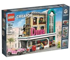 LEGO Downtown Diner 10260 CREATOR Expert Modular Building Set NEW Sealed
