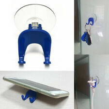 1pc Multifunction Home Kitchen Plastic Suction Cup Rack Stand Holder Wall Hook