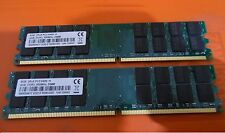 KIT RAM 8GB (2X 4GB) DDR2 PC2-6400 800MHz 800 DESKTOP MEMORIA PC2-6400U 240PIN