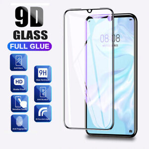For Huawei P20 P30 Pro Lite Tempered Glass 9D Full Cover Curved Screen Protector