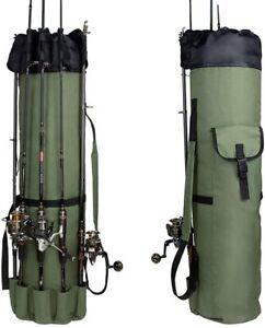 Fishing Bag Fishing Rod Bag Reel Case Carrier Holder Fishing Pole Storage