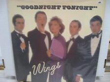 Paul McCartney and Wings Goodnight Tonight LP