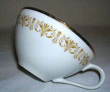 "Old Vintage Sheffield Imperial Gold Pattern 504 ~ Flat Cup - 2-1/8"" ~ Japan"