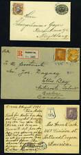 Sweden 1905/20's 3 Items Registered Stockholm Cover To