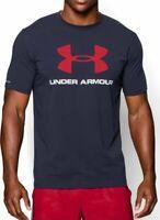 Hombre Under Armour Ua Sportstyle Logo Camiseta 1257615 Nuevo TALLA S, M, L & XL