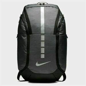 Nike Hoops Elite Pro Basketball Backpack BA5990-022 - Grey/Black - NWT- Free S&H