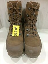 HAIX Desert Combat High Liability Boots Male Brown 9M Used #595