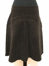 ARMANI JEANS Gonna Donna Velluto a Coste Velvet Cotton Woman Skirt Sz.M - 44