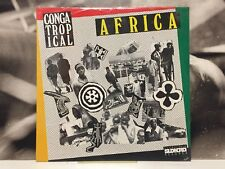 CONGA TROPICAL - AFRICA LP NEW SEALED 1989 ITALY SUDNORD RECORDS SN 0015