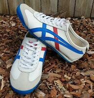 Onitsuka Tiger Mexico 66 HL202 Leather Shoes Sneakers Unisex Mens Womens US8