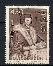 ITALIA 1983 SG # 1785 FRANCESCO GUICCIARDINI utilizzato #A 40478