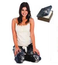 Ladies Pyjamas - Singlet Top & Elastic Drawstring Pants, Cream, Large (14)