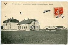 CARTE POSTALE AVIATION AVORD CHER CENTRE MILITAIRE D AVIATION