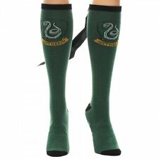 Harry Potter House of Slytherin Juniors Knee High Derby Socks with Cape UNUSED