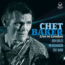 Chet Baker : Live in London CD 2 discs (2016) ***NEW*** FREE Shipping, Save £s