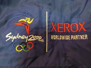 USA OLYMPICS 2000 SYDNEY Sponsor XEROX Swingster Embroidered (LG) Jacket w/ Hood