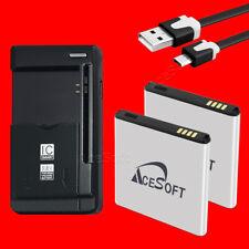 2x 3150mAh Battery Universal Dock Charger for Samsung Galaxy S II Skyrocket i727