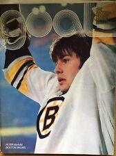 GOAL PITTSBURGH PENGUINS vs Boston Bruins Oct 29, 1977 Vol 11 No. 5 Peter McNab