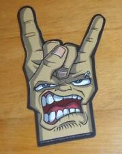 Hand Face Devil Horns Sticker 4.5x3 Lady Sovereign