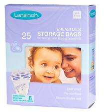 Lansinoh pre-sterilised latte materno BABY latte materno STORAGE BAGS 1 confezione (25).