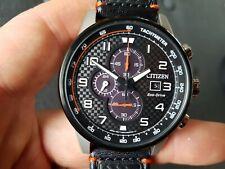 Citizen Primo Chronograph Black Dial Men's Watch CA0681-03E