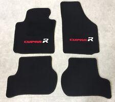 Autoteppiche Fußmatten für Seat Leon Cupra R 1P rot weiss schw 2farb ab2005' Neu