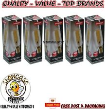 5 x Eveready 30w = 40w Halogen Cooker Hood Bulb E14 SES Small Edison Screw 40w