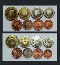 Tokelau Coins Set of 8 coins,2017,  UNC